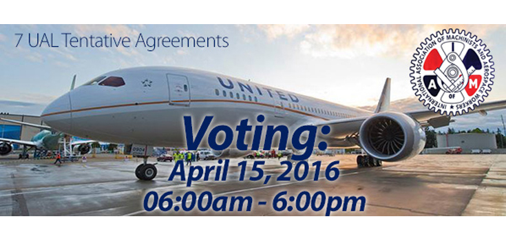 UAL tentative agreements