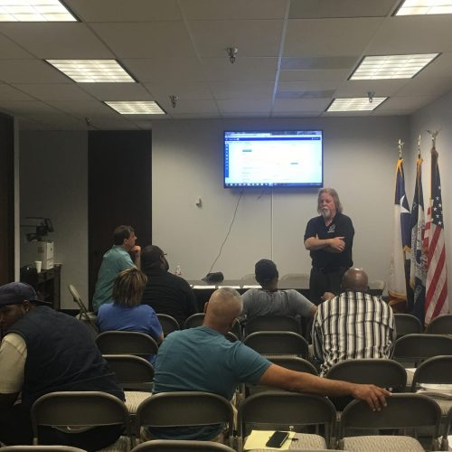 Safety Training Class, June 19, 2017