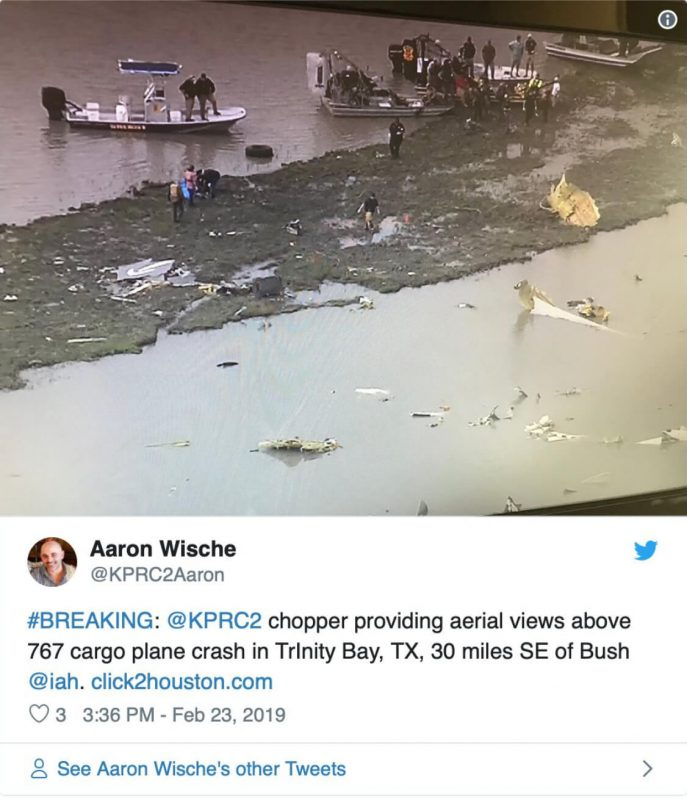 767 Cargo Plane Crashes Near IAH – IAM District 141