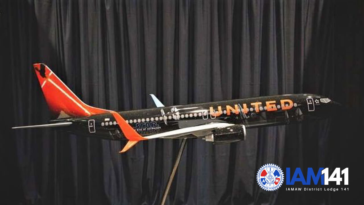 United Airlines Will Launch A Star Wars Themed Aircraft