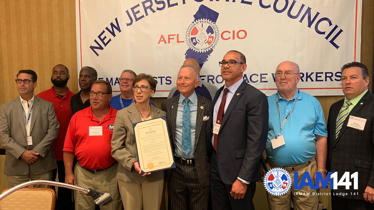 Unions at Work: Machinists Meet Lawmakers in the Garden State