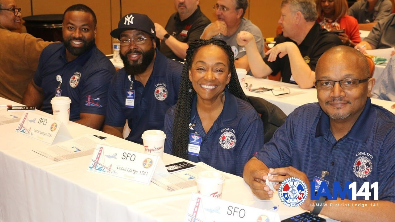 Airline Workers Gather for District 141 Committee Conference
