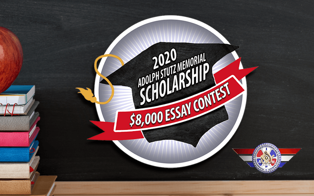 The 2020 Adolf Stutz Memorial Scholarship Award is Now Open for Applications!
