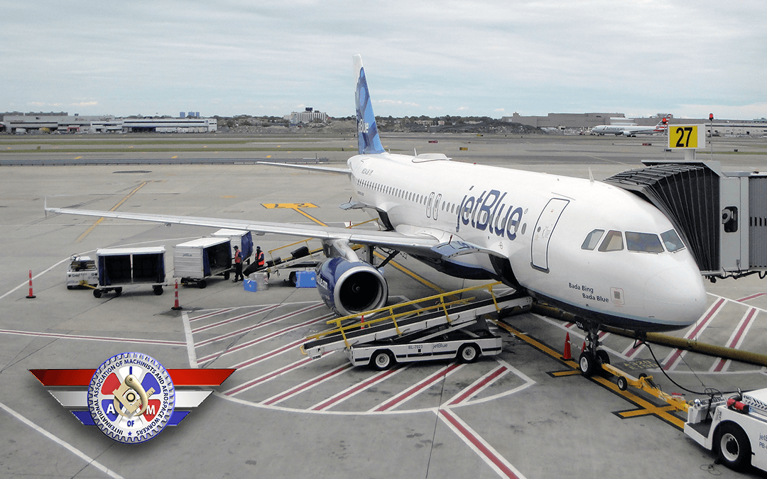 Presidente de la IAM pide a jetBlue que detenga el plan de subcontratación y respete a los trabajadores