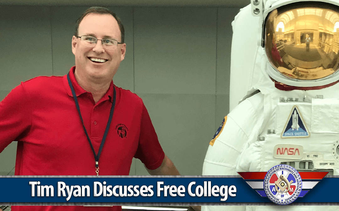 A Conversation with Tim Ryan about the Free College Benefit.
