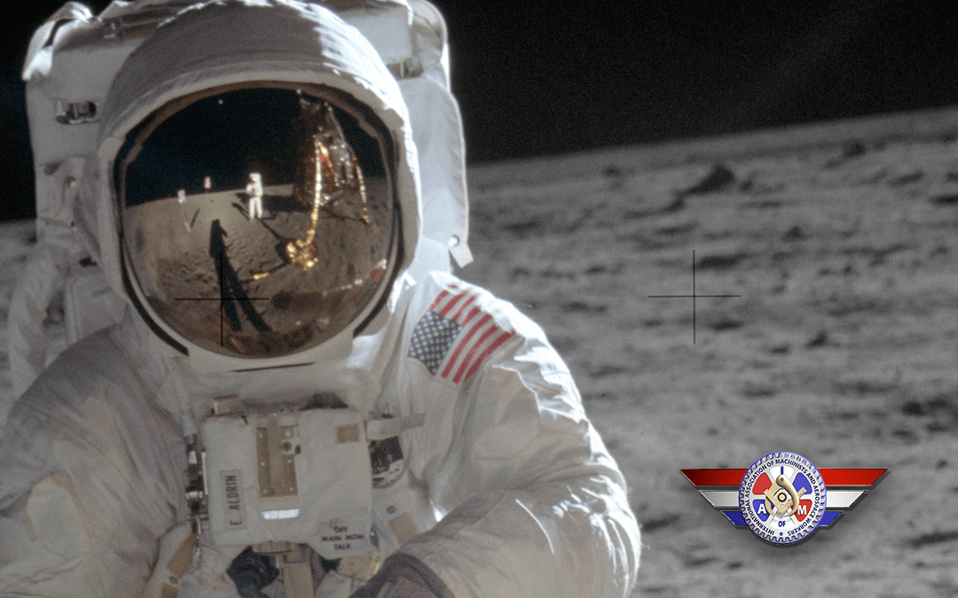 Machinist & Aerospace History: Buzz Aldrin and the Machinist Moonwalk