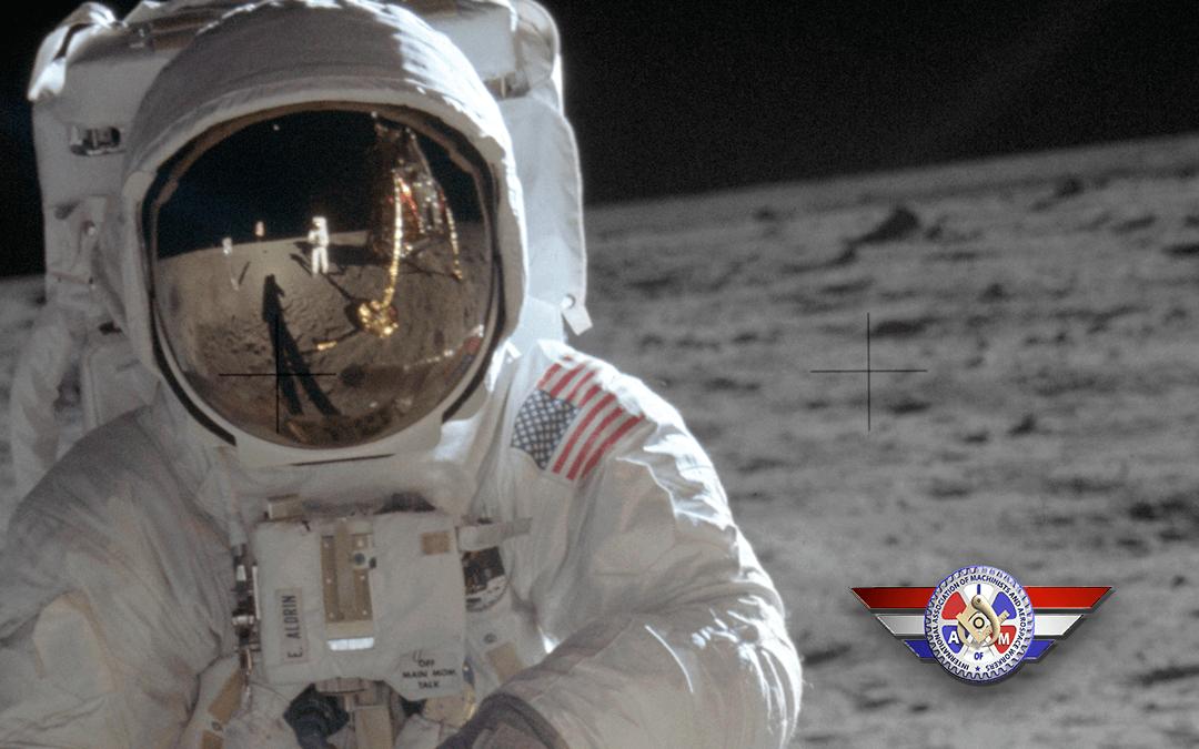 Machinist & Aerospace History: Buzz Aldrin and the Machinist Moonwalk
