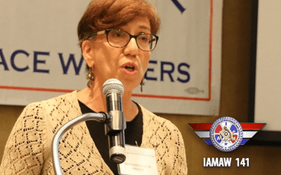 DL141 Video Report: Ines Garcia-Keim, President of the NJ State Council of Machinists Blazes the Path for More Women Leaders in the IAM