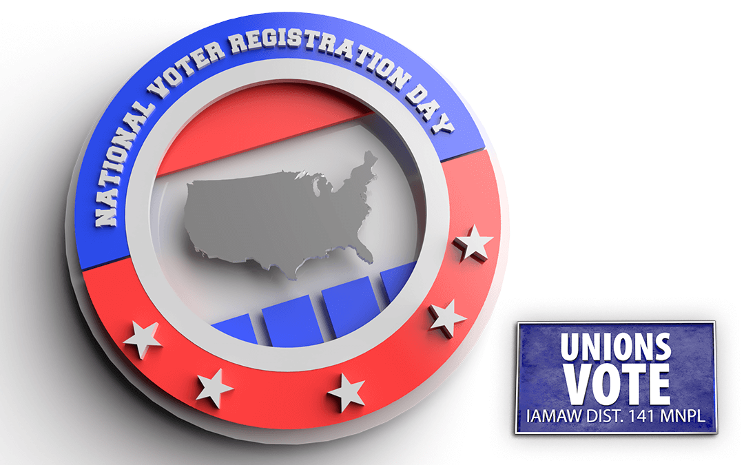 Are You Registered to Vote? Today is National Register to Vote Day.