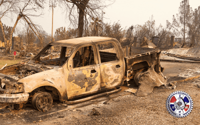 IAM Members Battle Vast West Coast Wildfires