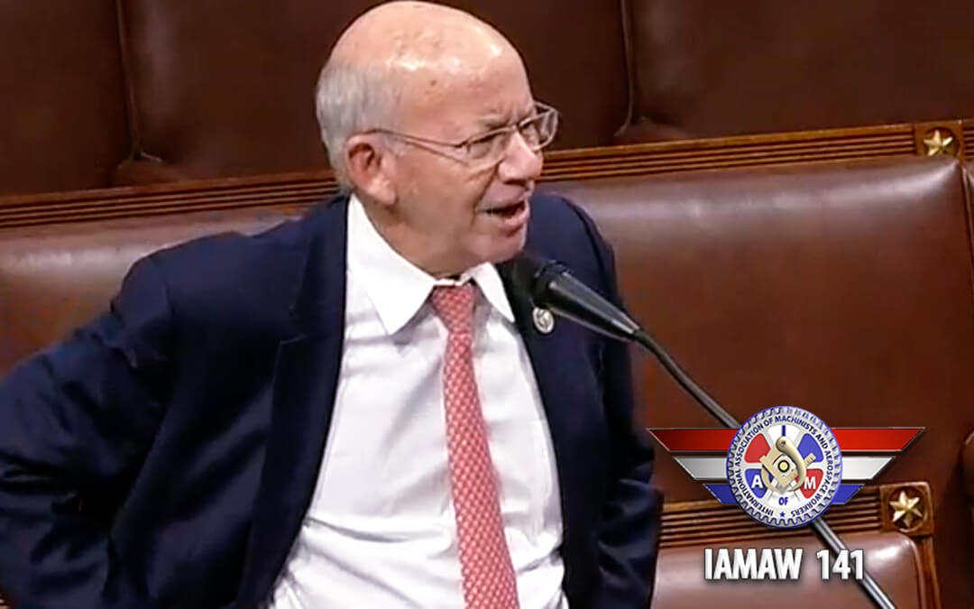Watch This: Rep. DeFazio Calls Out Lawmakers Killing Airline Payroll Support