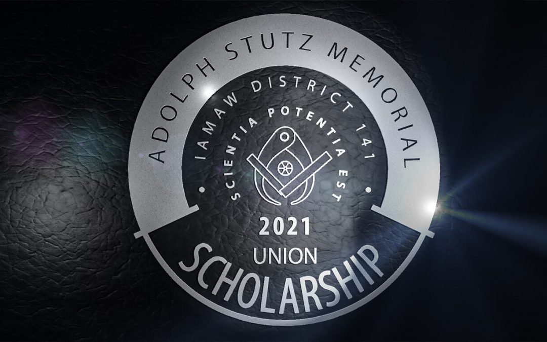 Announcing the 2021 Adolph Stutz Memorial Scholarship Essay Contest