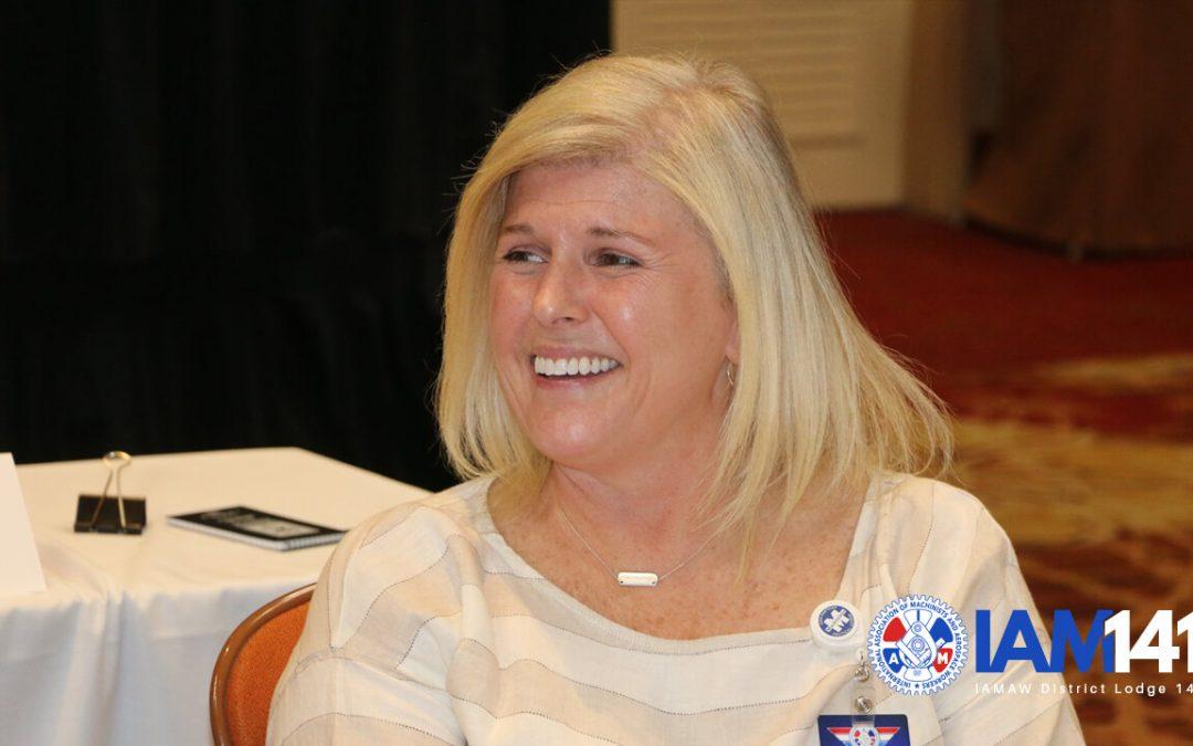 Barb Martin nombrada Vicepresidenta del Este del Distrito 141