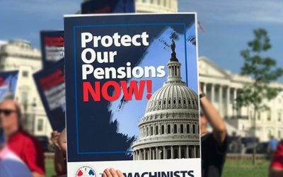 Majority Leader Schumer, IAM Led the Fight for Pension Plan Relief