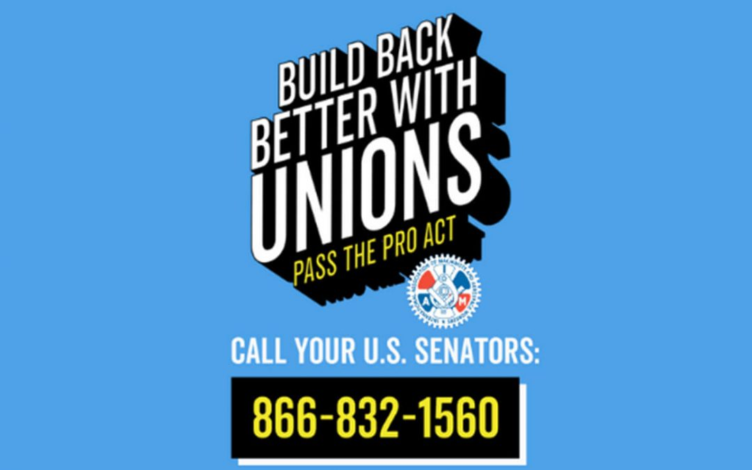 Help Pass the PRO Act
